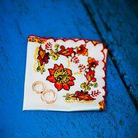 Расписной платочек для колец