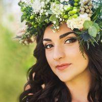 прическа и макияж  невесты Киев 093-740-4747