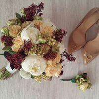 Букет невесты свадебная флористика