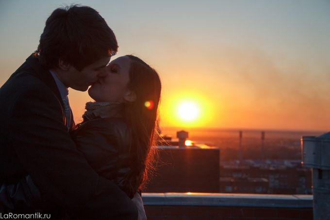 Закат и любовь