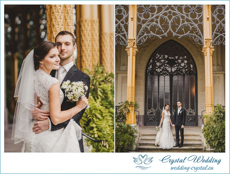 Фото 1792483 в коллекции Свадьба в замке Глубока - Crystal Wedding - свадьбы в Чехии и Европе