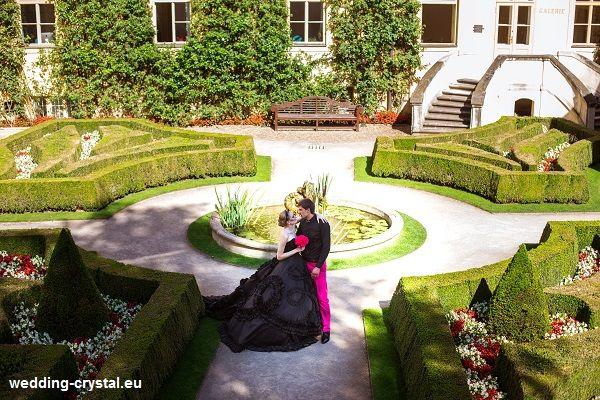 Фото 1809763 в коллекции Свадьба в Пражских садах - Crystal Wedding - свадьбы в Чехии и Европе