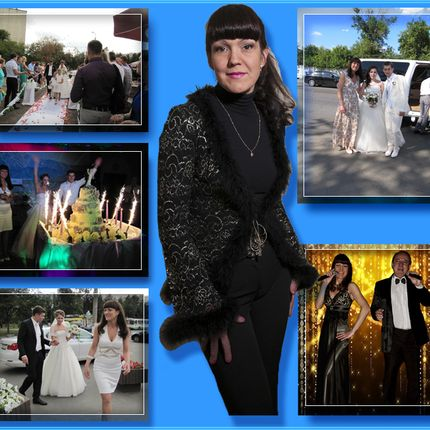 Ведущая свадеб и dj с оборудованием