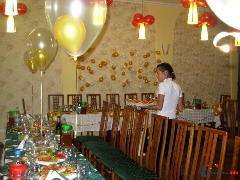 Фото 152247 в коллекции Украшение шарами свадеб - Праздничный Бум - оформление шарами