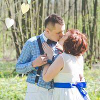 бабочка, невеста, жених, любовь,улыбка,поцелуй,свадьба в голубом,синяя лента, сердечки,природа,лес