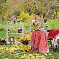 """оформление свадебной фотосессии """"Осеннее ретро"""" 12 октября 2013 года фото - Татьяна Мартынова"""