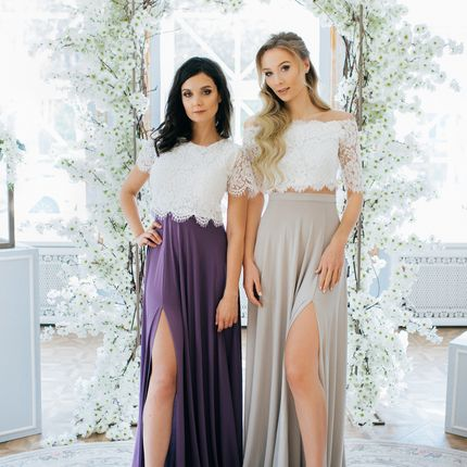Кружевное платье - пошив