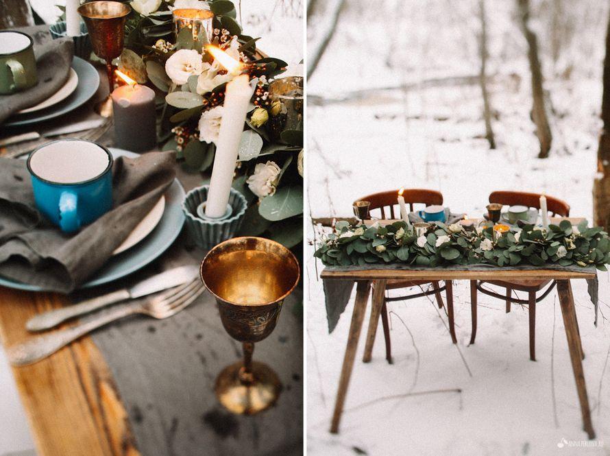 Фото 3648733 в коллекции Зимняя нордическая история - Студия декора Sacramento wedding