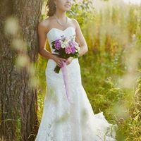 Летняя свадебная фотосессия на закате