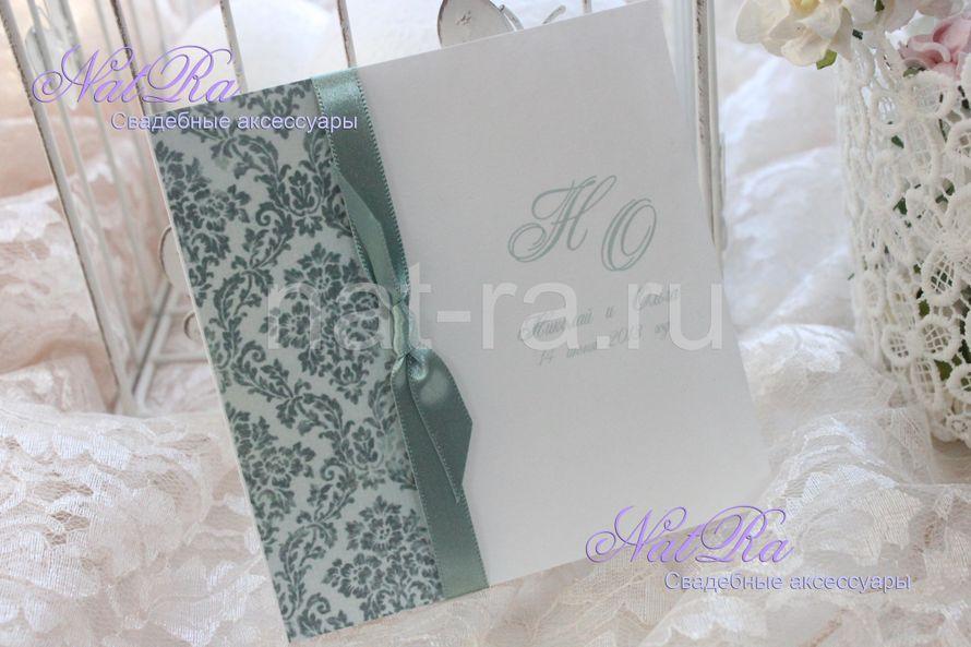 """Фото 1925779 в коллекции Свадебные приглашения - Студия свадебных аксессуаров """"NatRa"""""""