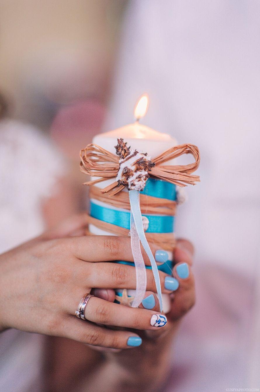 """Нежный маникюр на руках невесты в бело синих тонах в тон свадебной тематике. - фото 3398695 Студия флористики и декора""""Art-credo"""""""