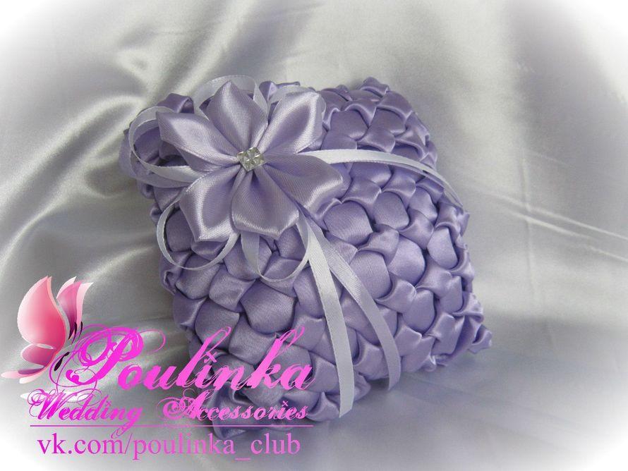 Подушечка с буфами для свадебных колец