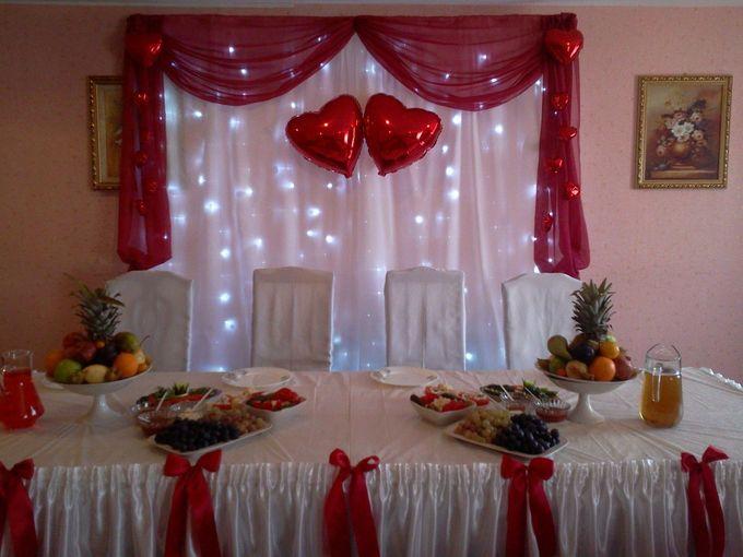 Простые украшения зала на свадьбу своими руками