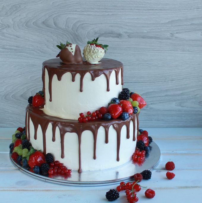 Пяти ярусный торт своими руками фото