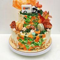 торт с фактурным кремовым покрытием и фигуркой из сахарной пасты стоимость торта 1900 р/кг стоимость 1900 Р/кг - закажите торт за 1 месяц или ранее и получите каждый 3-ий кг в подарок