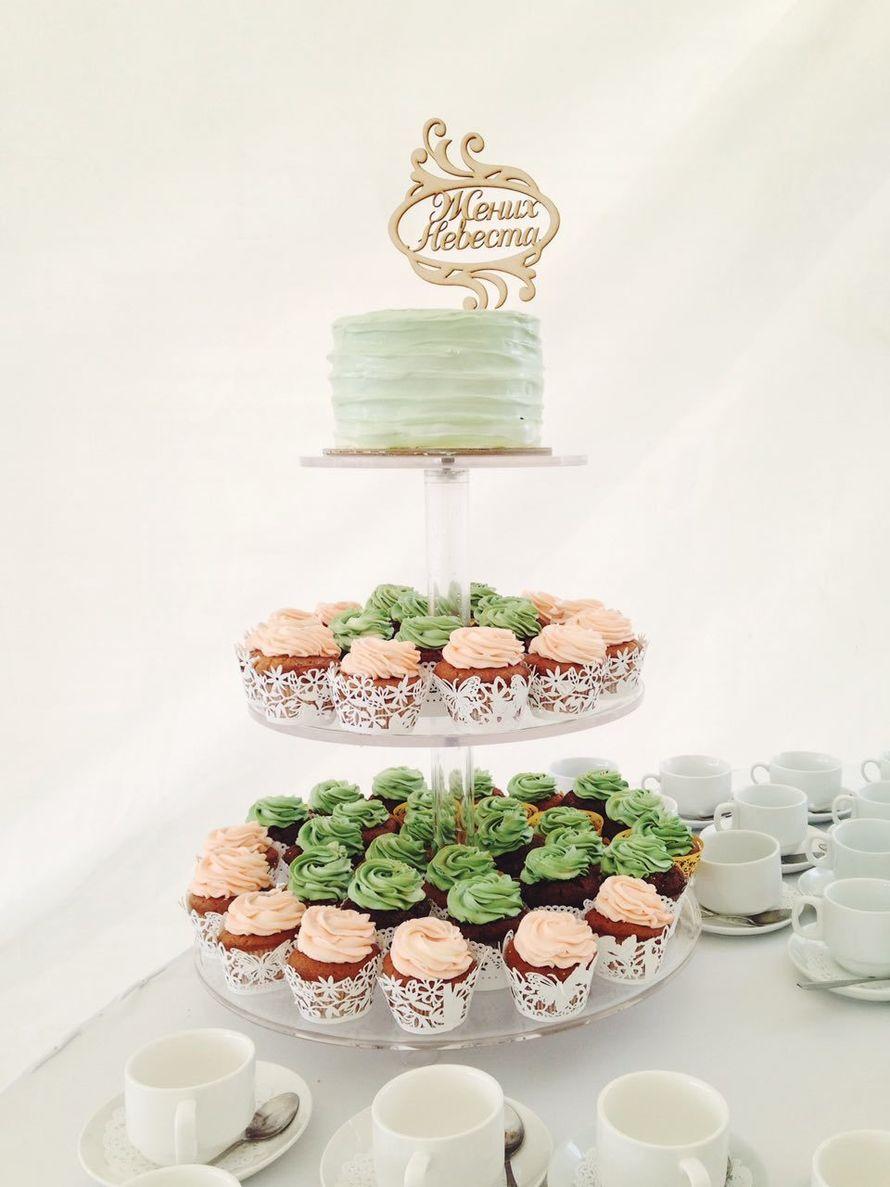 торт + капкейки стоимость от 200 р/гостя - фото 17665322 Sweet - кафе-кондитерская