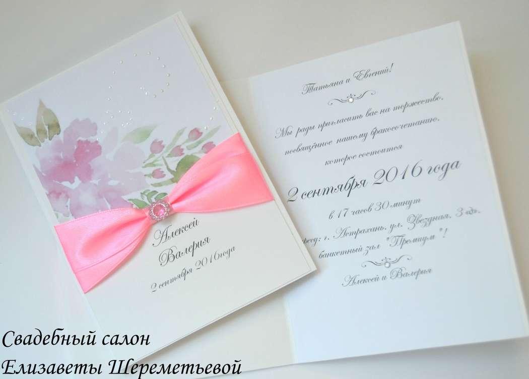 Фото 15915604 в коллекции Пригласительные ручной работы и открытки на заказ - Декор, флористика от салона Елизаветы Шереметьевой