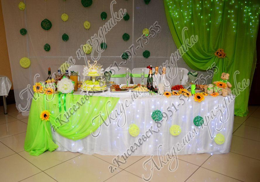 Фото 1995349 в коллекции Оформление свадебного зала - Академия Праздника - оформление свадеб