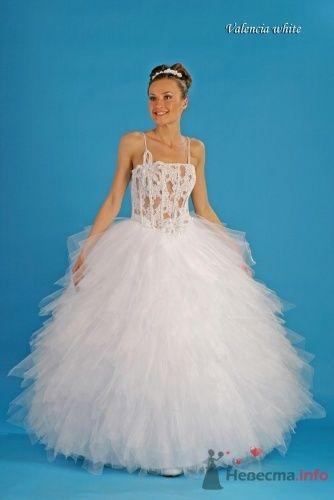 """Валенсия, белое - фото 15073 Свадебный салон """"Хельга"""""""