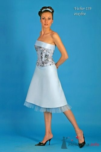 """Модель Vecher (139), голубое - фото 15111 Свадебный салон """"Хельга"""""""