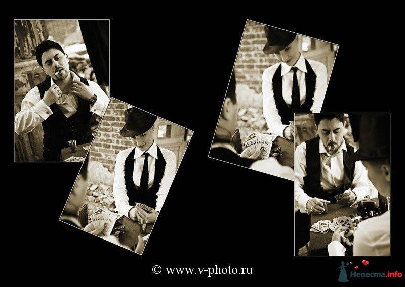 """Фото 94530 в коллекции Тематическая фотосъёмка-лавстори """"Гангстеры"""", развороты фотокниги - Свадебные фотографы StoryOfMoments"""