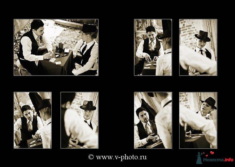 """Фото 94537 в коллекции Тематическая фотосъёмка-лавстори """"Гангстеры"""", развороты фотокниги - Свадебные фотографы StoryOfMoments"""