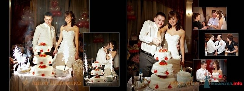 Фото 107676 в коллекции Свадебная фотокнига Владимира и Ирины. 12.02.2010