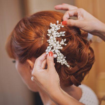 Причёска для невесты + репетиция