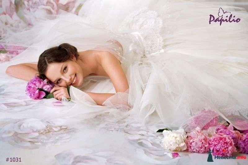 """свадебное платье """"Милена"""" (фирма Papilio) - фото 160837 Свадебный салон """"Нефертити"""""""