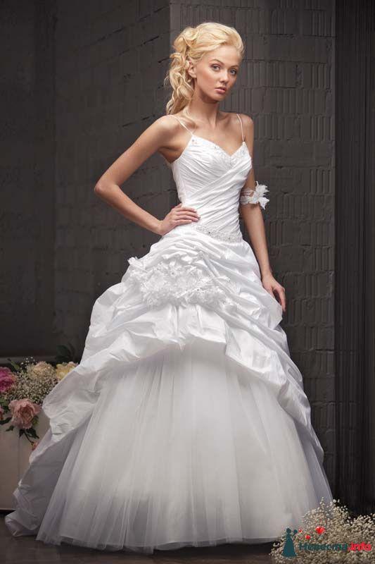 """свадебное платье """"Тая"""" (фирма VISAVIS) - фото 160842 Свадебный салон """"Нефертити"""""""