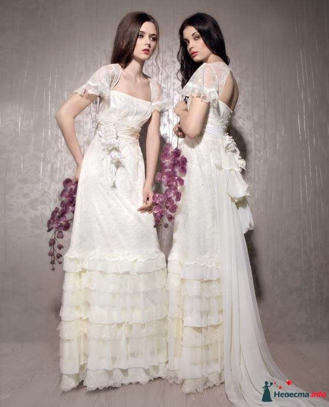 """свадебные платье """"Эстер"""" (фирма LE-RINA) - фото 160851 Свадебный салон """"Нефертити"""""""