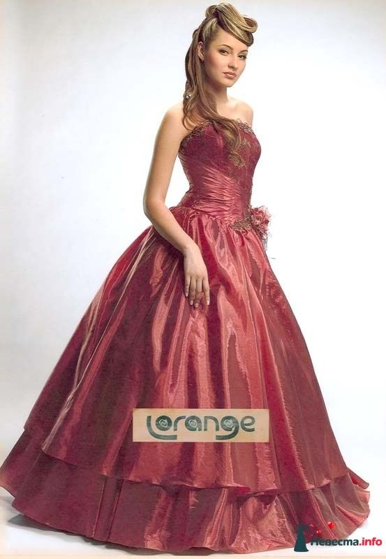 "вечернее платье Невада (фирма LORANGE) - фото 160864 Свадебный салон ""Нефертити"""