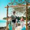 свадьба, на пляже, гости, море, карибы