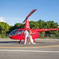 свадьба за границей свадьба в доминикане полет на вертолете