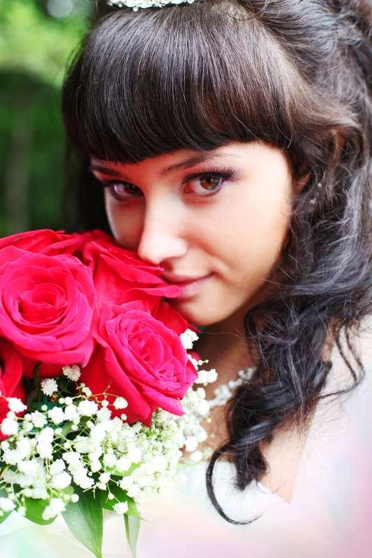 "невеста и розы - фото 2029384 ""Ваше желание"", фото и видео"