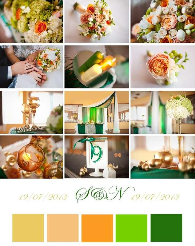 """Фото 2327168 в коллекции Цветовые палитры с наших свадеб - Свадебное агентство """"Black&White"""""""
