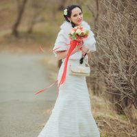 нежная невеста в свой свадебный день