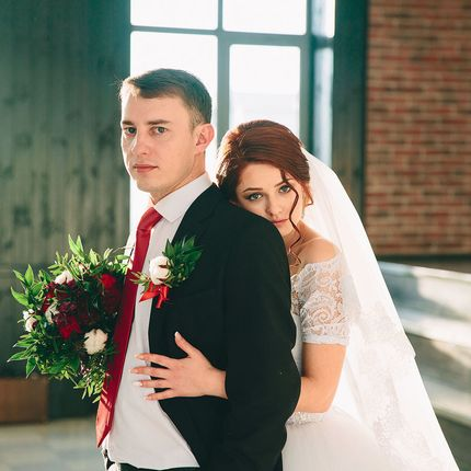 Видеосъёмка и фотосъёмка свадебного дня до 12 часов