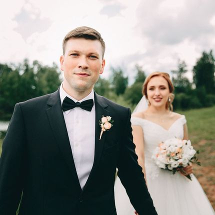 Видеосъёмка и фотосъёмка свадебного дня до 8 часов