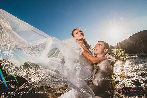 Фото 7505044 в коллекции Свадьба ДОТРОНУТЬСЯ ДО ОБЛАКОВ.Елизавета и Ярослав - Корпорация праздников Банзай в Ялте