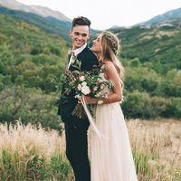 Бохо-шик фотосессия свадьбы