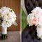 нежный розово-белый букет невесты