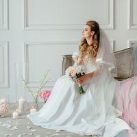 Оформление утра невесты  студии