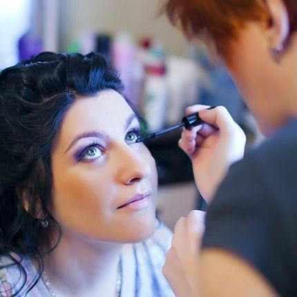Свадебный макияж 40 минут