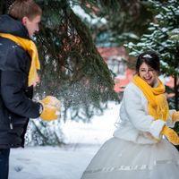 Жёлтая свадьба Саши и Кати