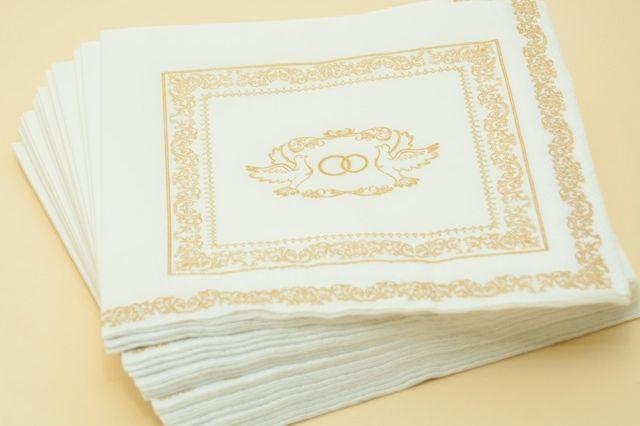 """Фото 2084460 в коллекции Мои фотографии - Свадебные салфетки """"Оригами"""""""