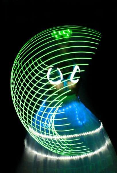 Неоновое шоу,Лазерное шоу - фото 2089618 Свадебное агентство Небо на двоих