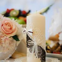 Свеча домашний очаг айвори Свадьба Анатолия и Светланы 2.05.2014 года Свадебный распорядитель Ксения Лето