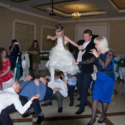 Проведение свадьбы, 1 день