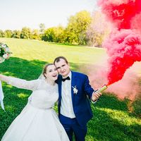 дым на свадьбе